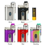 Lila - Eleaf iStick Pico Squeeze 2 100W Squonk Kit + Coral 2 RDA 4000mAh