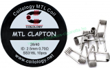 Coilology MTL Clapton Coil SS316 0,7ohm