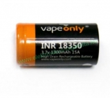 VapeOnly INR18350 High-drain Li-ion Battery 15A 1100mAh