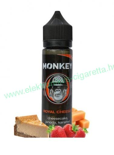 MONKEY LIQUID - Royal Cheese (Eper cheesecake karamelval) 12ml