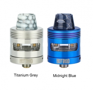 AKCIO Titanium Grey - Swedish Vaper HotRod 24mm RDA